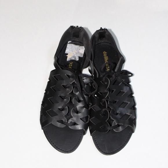 d90c6e61583d Dollhouse Shoes - Dollhouse Lace Up Sandals